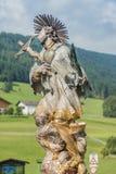 Procissão Oberperfuss de Maria Ascension, Áustria fotografia de stock
