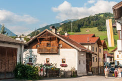 Procissão Oberperfuss de Maria Ascension, Áustria imagens de stock royalty free