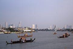 Procissão real da barca Foto de Stock Royalty Free
