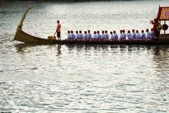 A procissão real da barca Fotografia de Stock Royalty Free