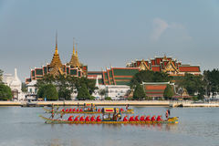 Procissão real da barca de Tailândia Imagens de Stock