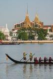 Procissão real da barca de Tailândia Fotografia de Stock Royalty Free