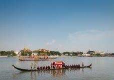 Procissão real da barca de Tailândia Imagens de Stock Royalty Free