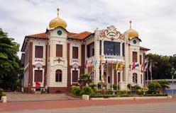 Proclamatie van het Gedenkteken van de Onafhankelijkheid malacca Stock Fotografie