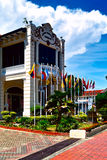 Proclamation of Independence Memorial. The former colonial Malacca Club Royalty Free Stock Image