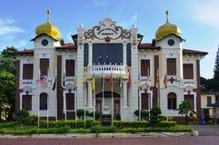 The Proclamation of Independence Memorial (Pengisytiharan Kemerdekaanan) in Malacca, Malaysia. MALACCA, MALAYSIA - The Proclamation of Independence Memorial ( Stock Image