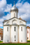Procopius church in Veliky Novgorod Royalty Free Stock Images
