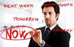Procrastinação Fotografia de Stock