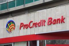ProCredit银行 库存照片