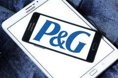 Procter & Gamble , P&G company logo. Logo of Procter & Gamble , P&G company on samsung mobile. P&G is an American consumer goods corporation. It primarily stock photos