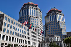 Procter and Gamble towers,USA Royalty Free Stock Photos