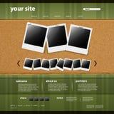 procurable les deux eps8 formate le site Web de descripteur de JPEG Images stock