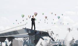 Procurando maneiras novas pela solução dos problemas Imagem de Stock Royalty Free