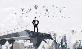 Procurando maneiras novas pela solução dos problemas Imagens de Stock Royalty Free