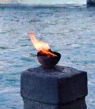 Procurar água com varinha de rabdomante a luz para rezar e devotar Imagem de Stock Royalty Free