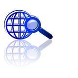 Procurarando o Web Imagem de Stock Royalty Free