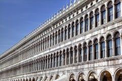 Procuratie Vecchie en la plaza San Marco (marca del St Fotografía de archivo libre de regalías