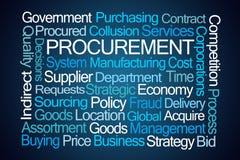 Procurement Word Cloud stock photos
