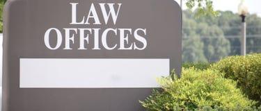 Procureur Law Firm Offices royalty-vrije stock fotografie