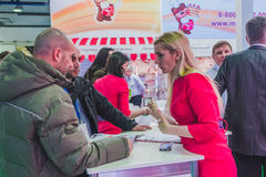 PRODEXPO 2017- exhibition for food Royalty Free Stock Image