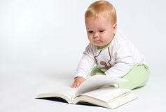 Prodigy baby Royalty Free Stock Images