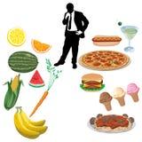 Prodotti alimentari Immagine Stock Libera da Diritti