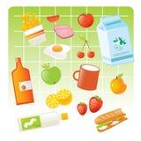 Prodotti alimentari Fotografia Stock Libera da Diritti