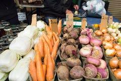 Prodotti all'agricoltori Fotografie Stock