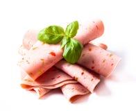 Prodotti a base di carne freddi fotografia stock