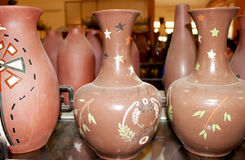 Prodotti ceramici di Chu Dau ceramici Fotografie Stock Libere da Diritti