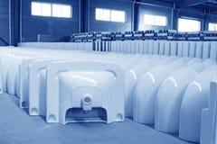 Prodotti ceramici di closestool Immagine Stock Libera da Diritti