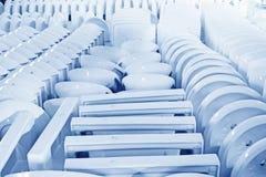 Prodotti ceramici di closestool Fotografia Stock Libera da Diritti