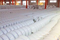 Prodotti ceramici di closestool Fotografia Stock