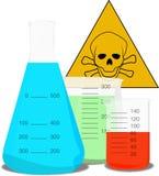 Prodotti chimici Immagine Stock Libera da Diritti