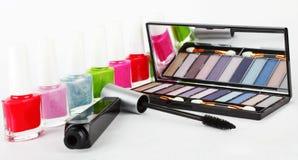 Prodotti cosmetici Fotografie Stock