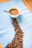 Prodotti del caffè Immagini Stock