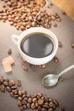 Prodotti del caffè, freno del caffè Immagini Stock