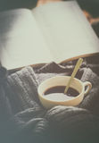 Prodotti del caffè, freno del caffè Fotografie Stock