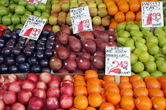 Prodotti del mercato del coltivatore Immagini Stock