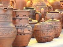 Prodotti dell'argilla Fotografia Stock