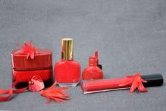 Prodotti di bellezza Fotografia Stock