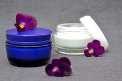 Prodotti di bellezza. Cosmetici Immagine Stock