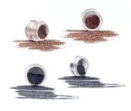 Prodotti di bellezza e del cosmetico Immagine Stock