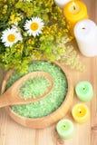 Prodotti di erbe naturali Fotografia Stock Libera da Diritti