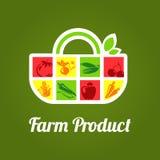 Prodotti di fattoria Fotografia Stock