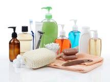 Prodotti di igiene personale Fotografia Stock Libera da Diritti
