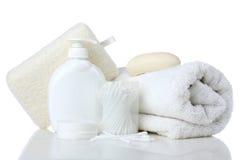 Prodotti di igiene personale Immagine Stock