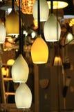 Prodotti di illuminazione Immagine Stock