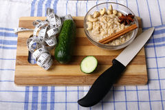 Prodotti dietetici fotografia stock