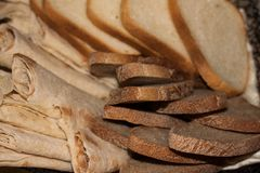 Prodotti freschi del forno fotografie stock libere da diritti